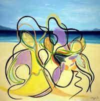 """Dancing on the Beach"""