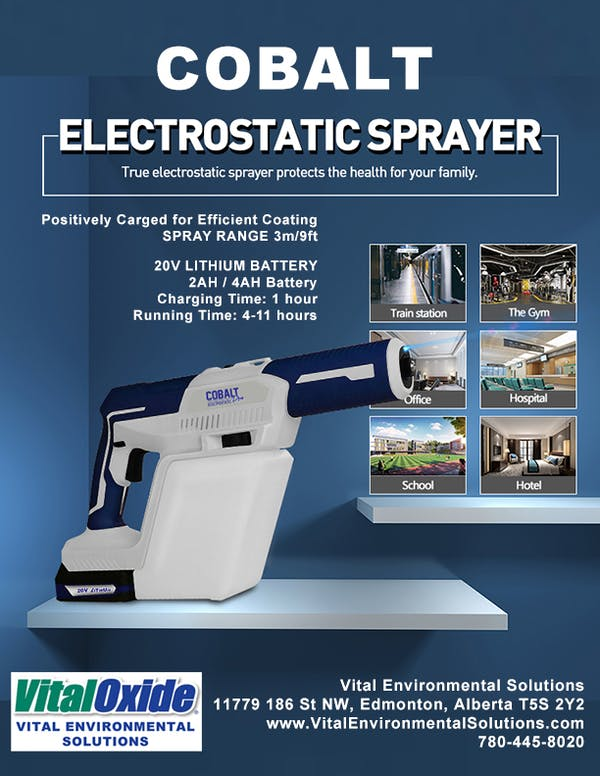 Cobalt Electrostatic Sprayer